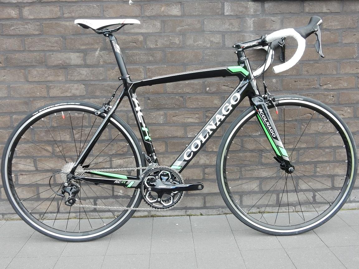 Colnago AC-R zwart/wit/fluo groen